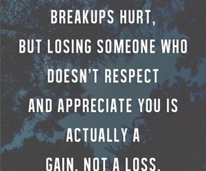 quote, break up, and love image