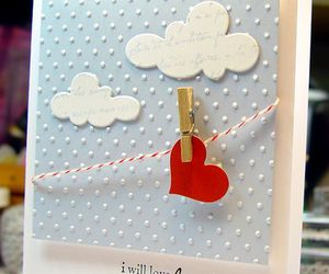 valentines day, love card, and quilling art image
