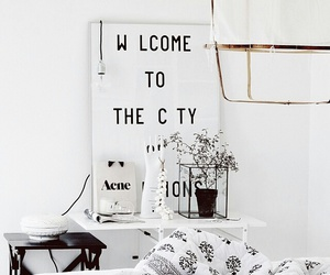 white, interior, and room image