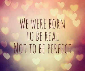 be, born, and perfect image