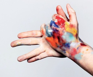 'hands', 'random', and 'art' image
