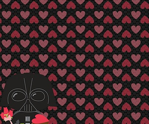 darth vader, star wars, and Valentine Day image