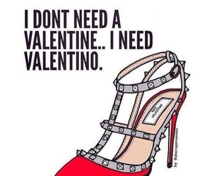 Valentino, valentine, and shoes image