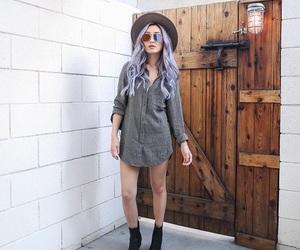 boots, Dress Shirt, and shorts image