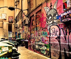 graffiti, art, and street image