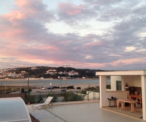 clouds, holidays, and pink image