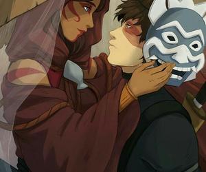 zuko, katara, and avatar image