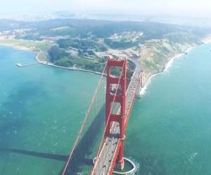 adventure, america, and bridge image