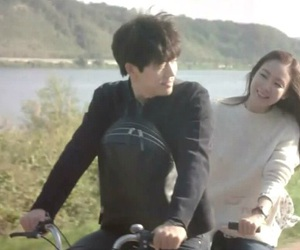 bicycle, korean, and love image