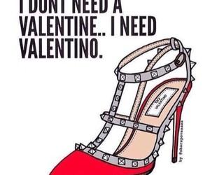 fashion, shoe, and saint valentine image