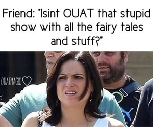 funny, ️ouat, and onceuponatime image