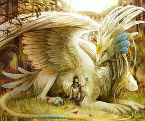 dragon, fantasy, and mystic image