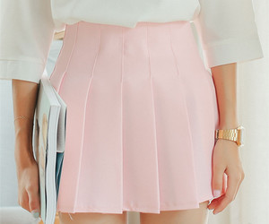 shirt, style, and skirt image