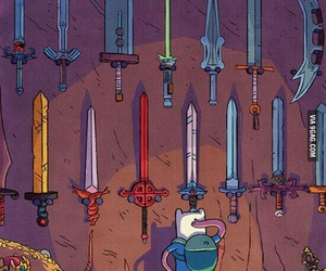 adventure time, finn, and sword image