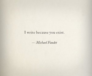 quotes, write, and exist image