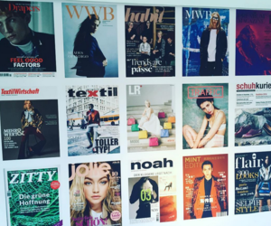 berlin, magazines, and models image
