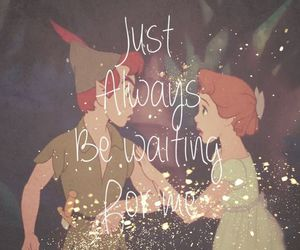 peter pan, love, and disney image