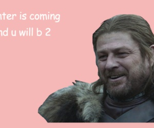 valentine, game of thrones, and ned stark image