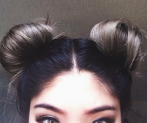 hair, eyes, and hairstyle image