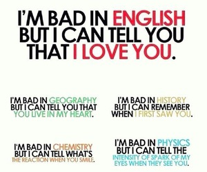 love, quotes, and english image