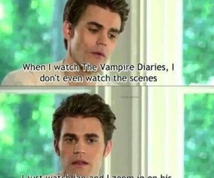 paul wesley, tvd, and ian somerhalder image