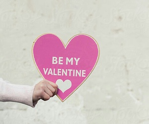 heart, Valentine's Day, and be my valentine image