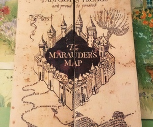 harry potter, sirius black, and the marauders map image
