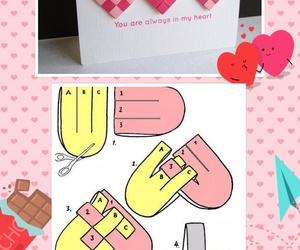 card, Valentine's Day, and diy image