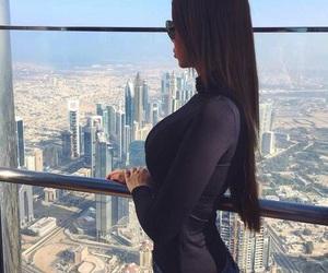 city, Dubai, and girl image