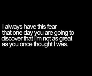 fear, quotes, and text image