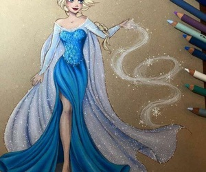 frozen, art, and disney image