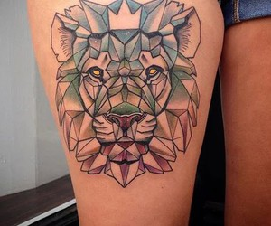 cool, hipster, and tattoo image