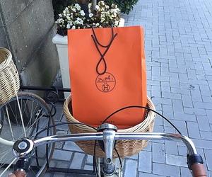 fashion, bike, and hermes image