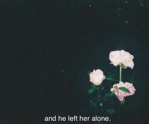 alone, sad, and grunge image