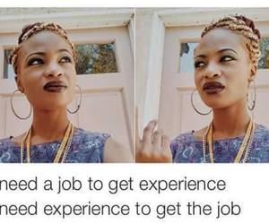 job, experience, and quote image