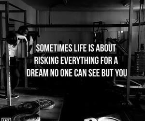 Dream, life, and motivation image