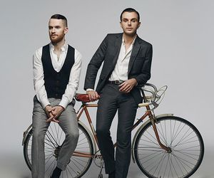 band, hurts, and russia image