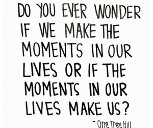 quote, life, and moments image