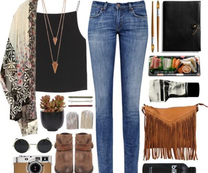 indie, boho, and outfit image