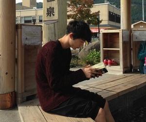 asian boy, ulzzang, and japanese model image