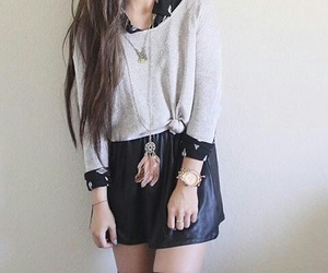 outfit, cool, and fashion image