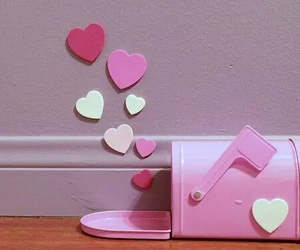 heart and pink image
