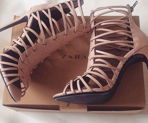 shoes, Zara, and heels image