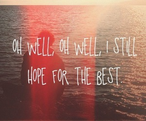 hope, quote, and Best image