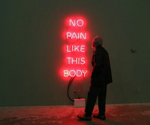 neon, pain, and art image