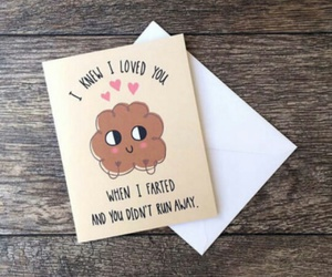love, funny, and fart image
