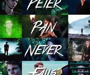 art, once upon a time, and peter pan never fails image
