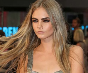 model, cara delevingne, and hair image