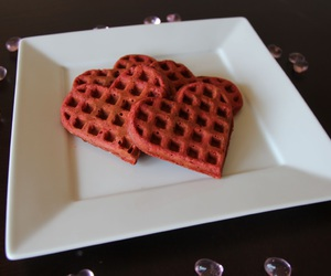 hearts and waffles image