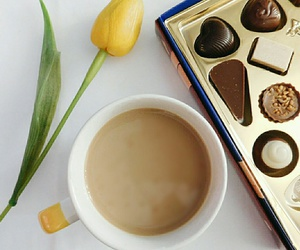 coco, coffee, and flowers image